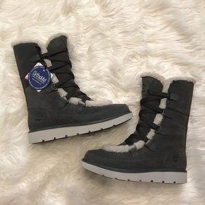 Timberland Kenniston Muk Tall Dark Grey Boots NWT NWT